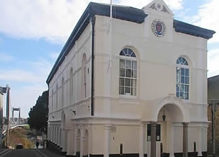 The Guildhall meeting venue Saltash